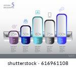 vector illustration info... | Shutterstock .eps vector #616961108
