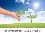 we love the world of ideas  man ... | Shutterstock . vector #616977650