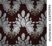 seamless pattern for adult... | Shutterstock .eps vector #616990994