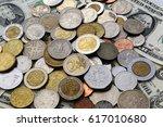 Coins Money Euro Dollar Cash