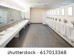 public toilet room    comfort...   Shutterstock . vector #617013368
