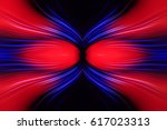 computer generated radial color ... | Shutterstock . vector #617023313