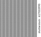 seamless knitting pattern.... | Shutterstock .eps vector #617033990