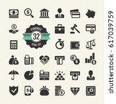 money  finance  payments   web... | Shutterstock .eps vector #617039759