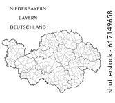 detailed map of the district of ...