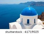 Churches Of Santorini  ...