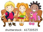 illustration featuring three... | Shutterstock .eps vector #61720525