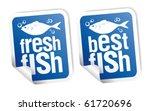 Best Fish Stickers Set