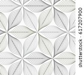 linear vector pattern ... | Shutterstock .eps vector #617207900