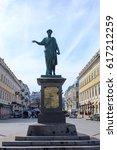 monument to duke de richelieu... | Shutterstock . vector #617212259