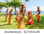papeete  french polynesia  ... | Shutterstock . vector #617241128