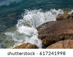 Surf In The Mediterranean Sea...