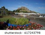 mont orgueil castle  gorey ... | Shutterstock . vector #617243798