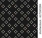 vector seamless pattern  black  ... | Shutterstock .eps vector #617265284