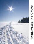 ski track | Shutterstock . vector #61726990