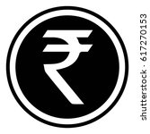 currency symbol india indian... | Shutterstock .eps vector #617270153