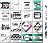 old retro vintage style... | Shutterstock .eps vector #617273234