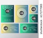 fresh background flyer style... | Shutterstock .eps vector #617277083