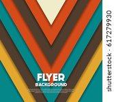 fresh flyer style background... | Shutterstock .eps vector #617279930