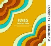 fresh flyer style background... | Shutterstock .eps vector #617280014