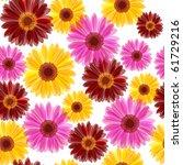 Bright Daisy Flowers Seamless ...