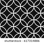 geometric vector pattern ... | Shutterstock .eps vector #617314886
