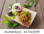 fried spicy boar food thailand... | Shutterstock . vector #617322059