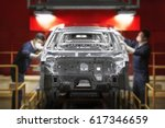 automobile manufacturing | Shutterstock . vector #617346659