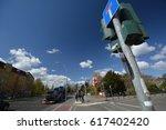 spring impressions from berlin... | Shutterstock . vector #617402420
