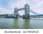 one day in sunny london. | Shutterstock . vector #617403413