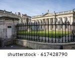 cambridge  england   mar 13 ... | Shutterstock . vector #617428790
