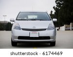 front view of a silver 2007... | Shutterstock . vector #6174469