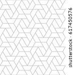 seamless geometric pattern.... | Shutterstock .eps vector #617450576