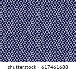 knitted seamless patterns.... | Shutterstock .eps vector #617461688