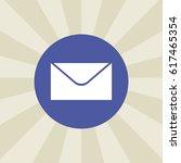 envelope icon. sign design....