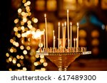 Ambiance Of Church  Candles An...