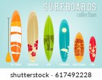 Surfboards Collection With...