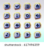 set of game buttons_4