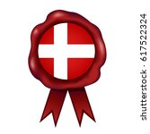 danish wax seal | Shutterstock .eps vector #617522324