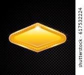 vector rectangle frame. shining ... | Shutterstock .eps vector #617532224