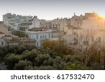 view of athens city center... | Shutterstock . vector #617532470