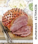 Christmas Ham With Cloves And...