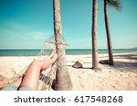 leisure in summer   beautiful... | Shutterstock . vector #617548268
