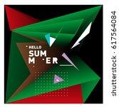 vector graphic background... | Shutterstock .eps vector #617564084