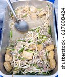 bean sprout stir with fried...