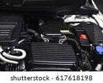 car engine  powerful engine... | Shutterstock . vector #617618198