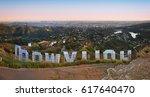 los angeles   usa   april 7 ... | Shutterstock . vector #617640470