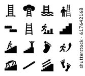 step icons set. set of 16 step...   Shutterstock .eps vector #617642168