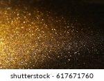 glitter vintage lights...   Shutterstock . vector #617671760