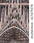 Small photo of Notre Dame Cathedral in Strasbourg, Alsace, France